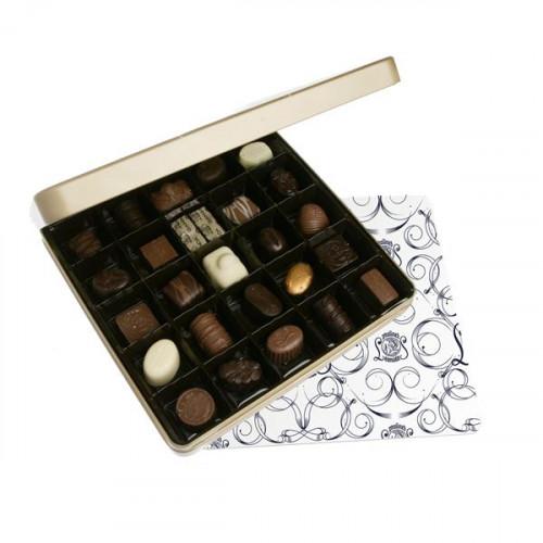 Boite Métal 25 Chocolats Leonidas