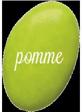 Dragées Chocolat Vert Pomme 400 gr