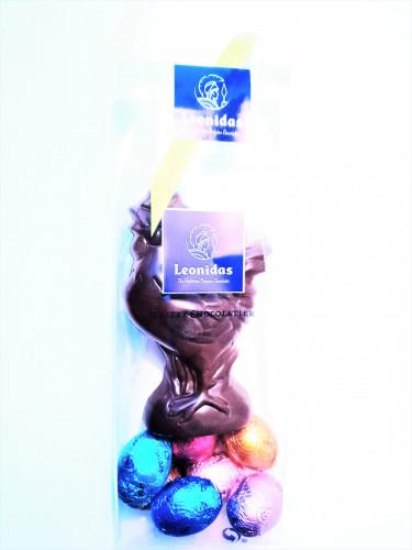 Figurine Coq Chocolat Lait